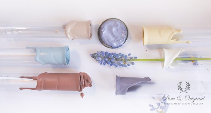 Nya Interieurontwerp Pure&Original voorjaarskleuren buisjes