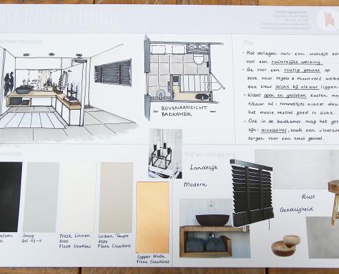 Nya Interieurontwerp Opdracht Gamma badkamer