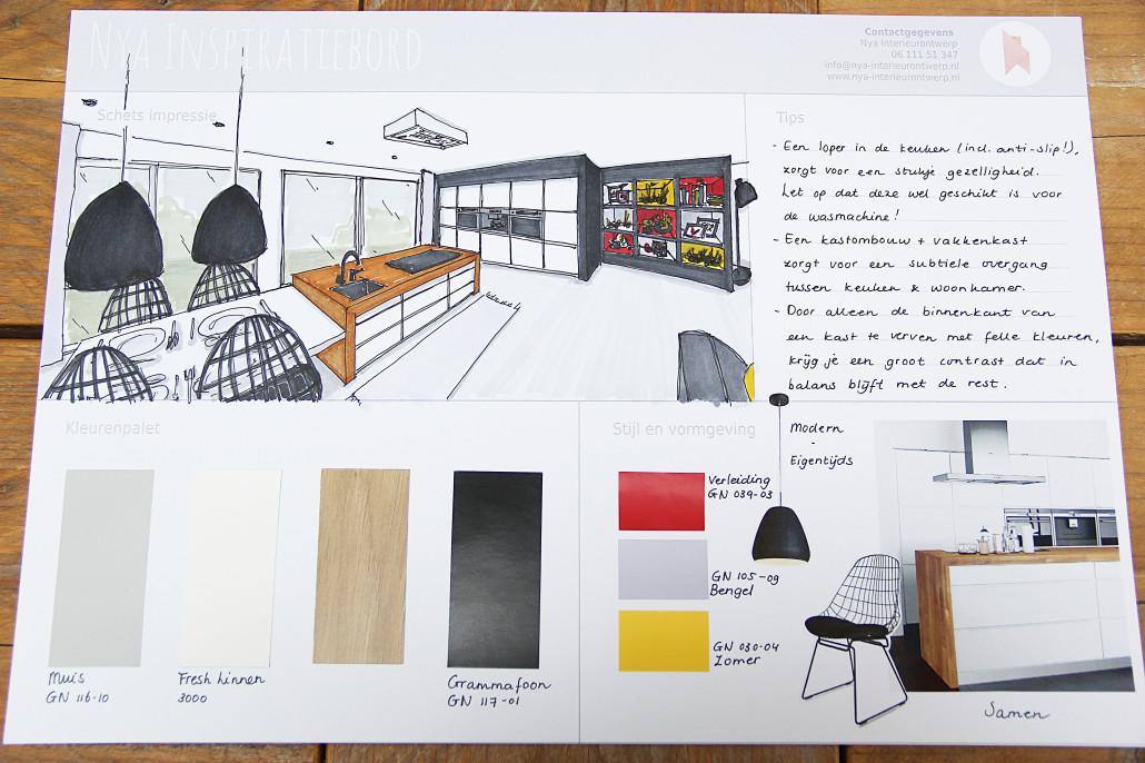 Modern Gamma Keukens : Nya interieurontwerp portfolio opdracht gamma delft