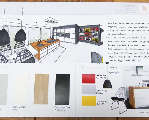 Nya Interieurontwerp Opdracht Gamma keuken