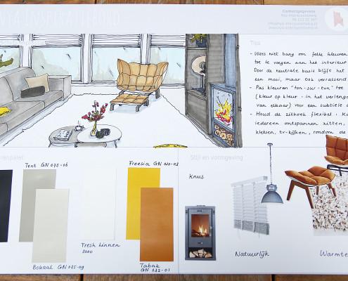 Nya Interieurontwerp Opdracht Gamma woonkamer