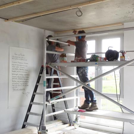 Nya Interieurontwerp Nieuwe woning klussen verlaagd plafond