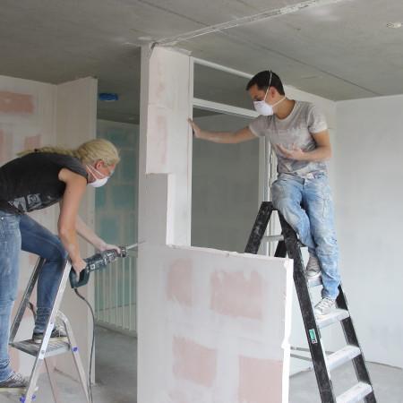 Nya Interieurontwerp Nieuwe woning samen klussen