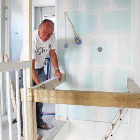 Nya Interieurontwerp Nieuwe woning trapgat