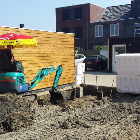 Nya Interieurontwerp Nieuwe woning tuin