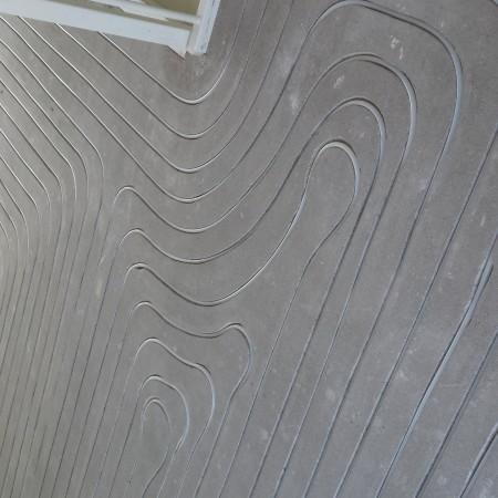 Nya Interieurontwerp Nieuwe woning vloerverwarming