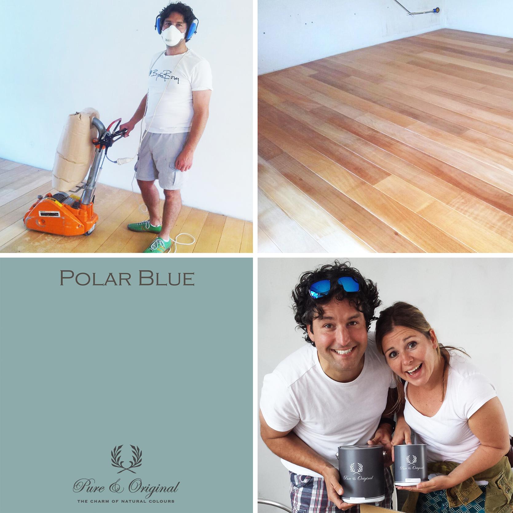 Nya Interieurontwerp nieuw jasje Pure&Original Polar Blue