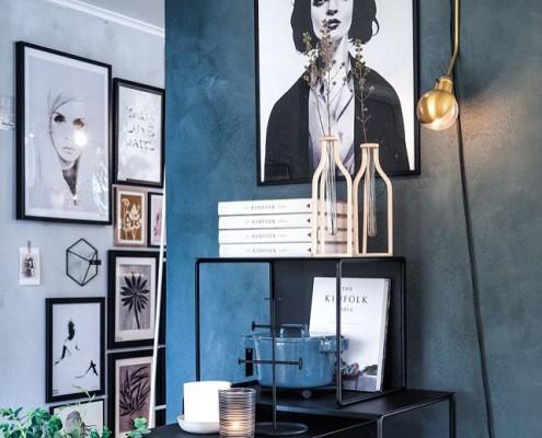 Nya Interieurontwerp Lijsten, kleuren Country Blue & Evening Shadow