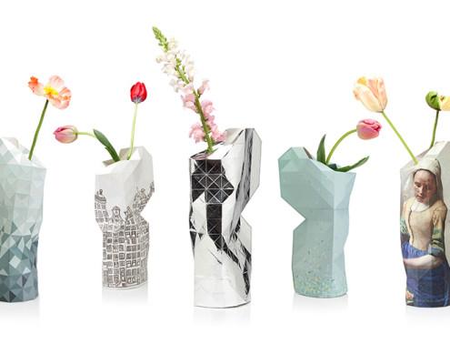 Nya Interieurontwerp Pepe Heykoop Paper Vase Cover