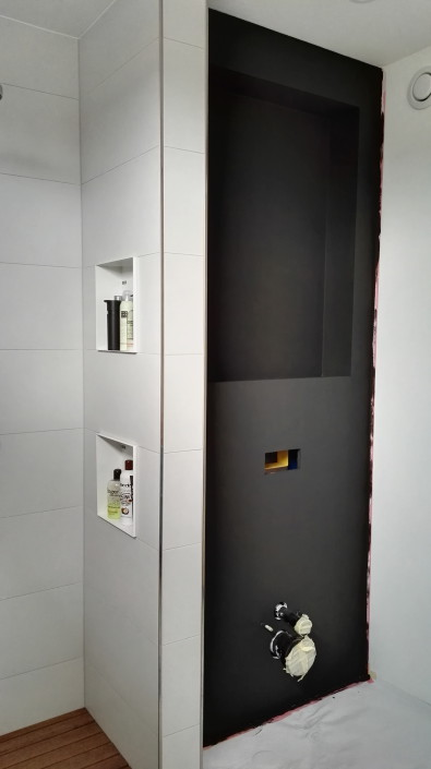 Nya Interieurontwerp badkamer tussentijds resultaat