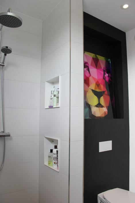 Nya Interieurontwerp voor Pure & Original badkamer Blach Truffle