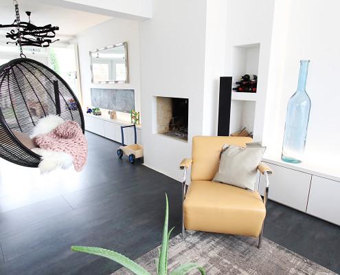 Nya interieurontwerp portfolio woon leefruimte delft optie a b