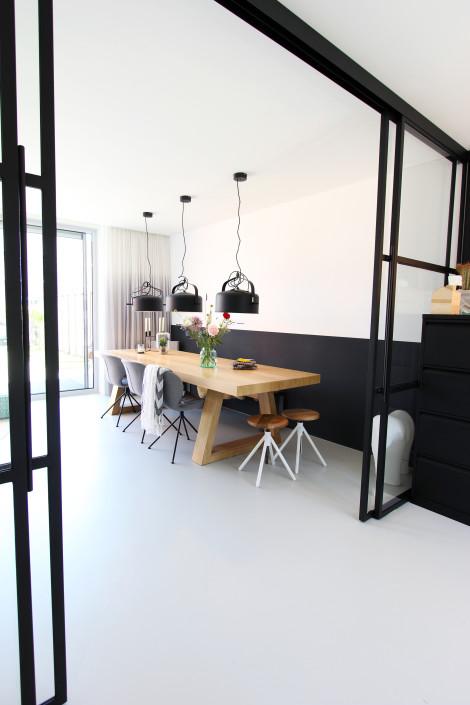 Nya Interieurontwerp werkkamer tafel