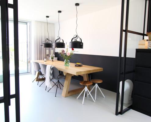 Nya interieurontwerp portfolio totaalontwerp werkruimte keuken
