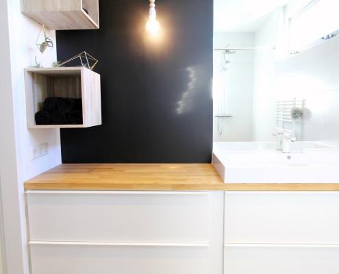 Nya Interieurontwerp badkamer spoelbak werkblad