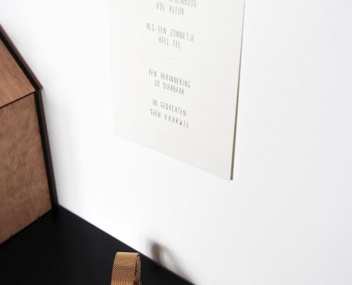 Nya Interieurontwerp bovenverdieping slaapkamer letterbak detail 2