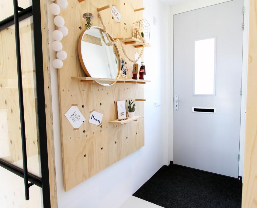 Nya Interieurontwerp werkkamer entree