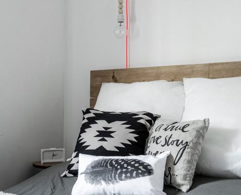 Nya Interieurontwerp slaapkamer diy lamp