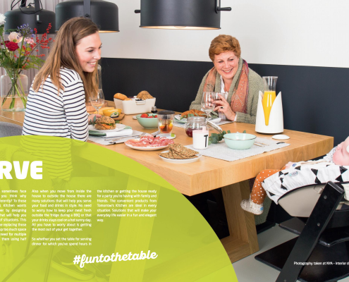 Nya Interieurontwerp Brochure Tomorrow's Kitchen p 26/27